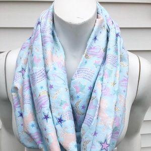 Accessories - Unicorn flannel scarf